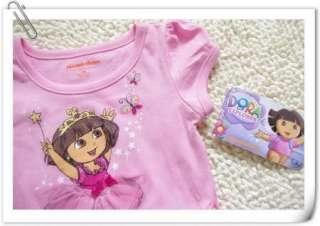 Girls Kids Dora SZ1 7Y Costume Summer Fancy Dress Tutu Skirt Outfit