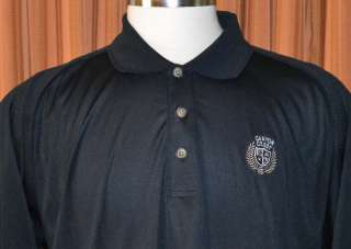 Ashworth AWS CANYON CREST BLACK GOLF SHIRT MENS XXL 2XL