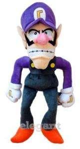Nintendo Super Mario Brothers Waluigi 18 Plüsch Plush