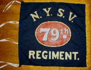 79th New York Scottish Highlanders Flank Flag