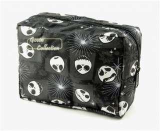 Nightmare before Christmas Jack Skellington cosmetic make up bag 212