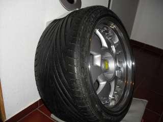 MAE Crown Jewel 3 teilig VA 9,0 und HA 10,5 Zoll mit Reifen in