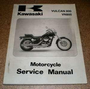 Service Manual Kawasaki Vulcan 800 Sand 07/2002 |
