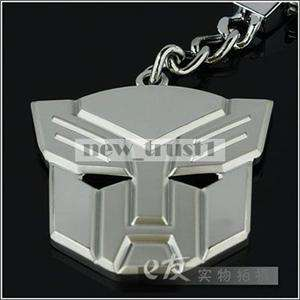 Transformers KEY CHAiN Metal Logo KEYRING KEYFOB NEW 68