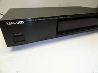 Kenwood KT 1020L Quartz Stereo tuner