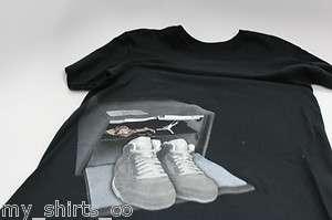 Nike Air Jordan Black Grey Air Jordan Retro 5 Wolf Grey Matching T