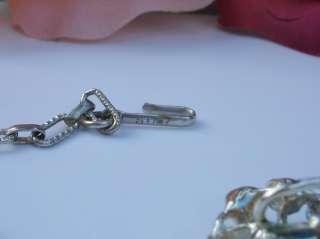 Signed STAR Necklace Bracelet Earrings Rhinestone