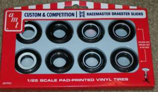 AMT M & H Racemaster Dragster Slicks custom and competition 1/25