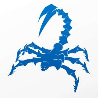 Helmet Decal Sticker Scorpion Moto Car Window WW728