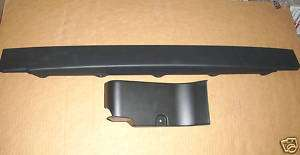 Caprice~9C1~Front Air Deflector~Center & RH~Impala SS~