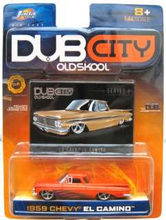 Jada Dub 1959 Chevy El Camino Ser 1 Org 1/64 OLD STOCK