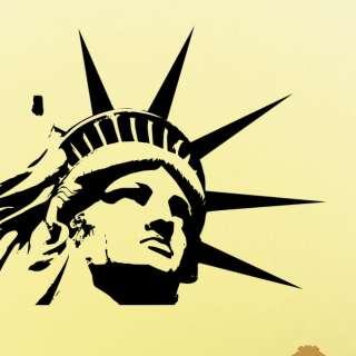 Statue of Liberty Wall Decor Decal Vinyl Art SL4
