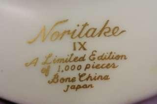 Vintage Noritake Bone China 1981 Valentines Day Heart