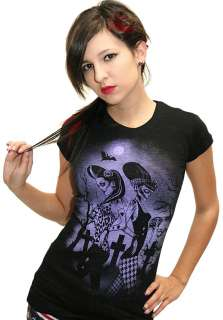 Shirt Twisted Sisters Zombie Rockabilly Pin Up Punk Tattoo Vamp