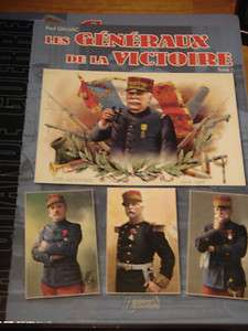 WW1 French France Generals of Victory Biography Reference Book 1