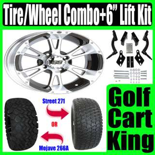Club Car Precedent Wheel Tire Combo Golf Cart Lift Kit
