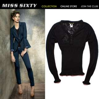 NEW Stunning Slim Fashion Lovable MISS SIXTY Ladys Cool Sweater Knit