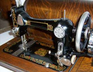 Foley & Williams Goodrich Hand Crank Sewing Machine *