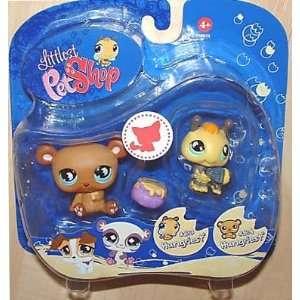 Littlest Pet Shop   Pet Pairs   2 Pack   Hungriest   Honig Biene #813