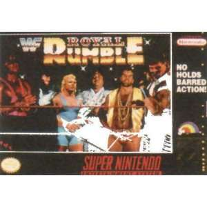 WWF Royal Rumble   Super Nintendo   PAL  Games