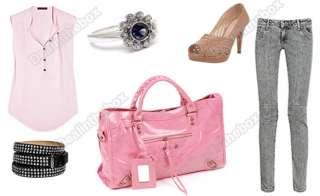 New Fashion Womens PU Leather Shoulder Bag Tote Bags Handbag Purse 4