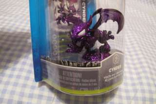 EXCLUSIVE 2012 NY Toy Fair Metallic Purple Skylander Cynder Figure