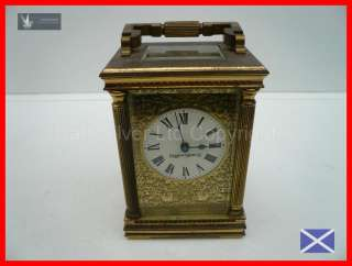 Glorious Mappin & Webb Brass Carriage Clock~Keeps Perfect Time~