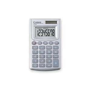 Canon USA  8 Digit Calculator,Dual Power,2 7/8x3 15/16