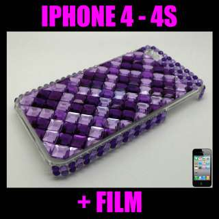 COQUE STRASS BLING BRILLANTE APPLE IPHONE 4   4G