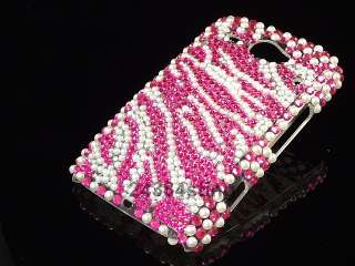 DIAMOND BLING CRYSTAL BACK CASE for HTC CHACHA CHA CHA
