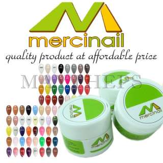 MERCINAIL Premium Color UV Gel Nail Art 1st Collection
