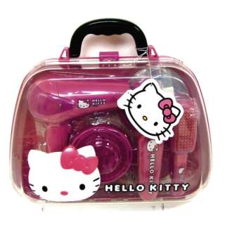 Have lots of roleplay fun with this Hello Kitty Hair Care Set