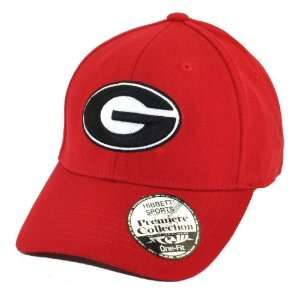 Georgia Bulldogs UGA NCAA Premier Collection One Fit Cap Hat Large