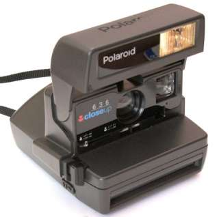 Polaroid 636 Close Up Instant camera, takes 600 or PX600 film