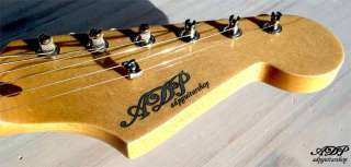 ADP CUSTOM GUITAR body Neck STRATOCASTER ® Lic. Fender