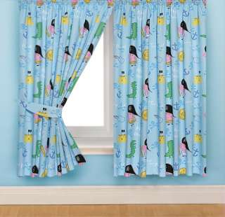 Peppa Pig George Pig Pirate 54 Ready Made Curtains