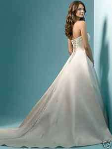 New Stock Wedding Dresses Bridal/Bridesmaid Gown hot sale Stock Size