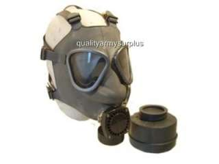 NEW GENUINE FINNISH ARMY GAS MASK AND FILTER WITH VOICE ENHANCER