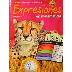 Expression, Grade 5 Student Activity Book: Houghton Mifflin Harcourt