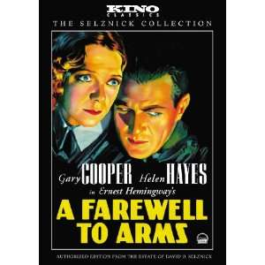 A Farewell to Arms Kino Classics Edition Helen Hayes