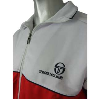 Clothing   Mens White Sergio Tacchini Orion Track Suit Top Jacket