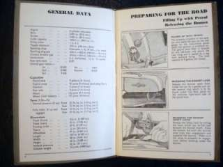 MORRIS OXFORD SERIES MO 10th EDITION OPERATION MANUAL ref:29/28