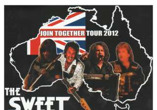 THE SWEET NEW YORK CONNECTION PROMO PACK CD/POSTER/BACKSTAGE PASS/TOUR
