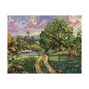 Kinkade Country Living Counted Cross Stitch Kit: Arts, Crafts & Sewing