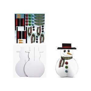 Karen Foster Design Kids Kraft It Kit Snowman Arts, Crafts & Sewing