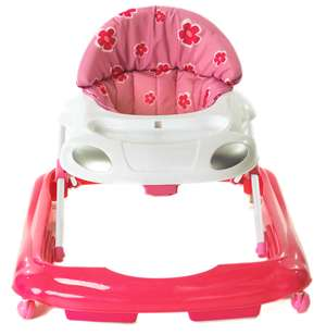 Brand New Red Kite Baby Go Vroom Walker in Pink and Red