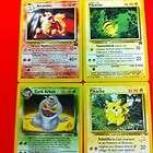 Carte Pokemon Lotto Arcanine 6 Pikachu 27 Dark Arbok 19
