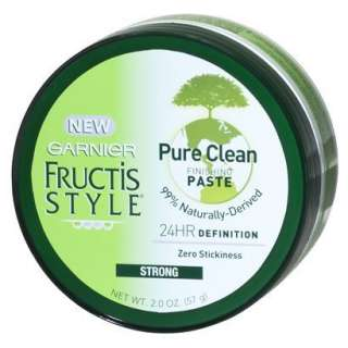Garnier Fructis Pure Clean Finishing Paste   2 oz product details page
