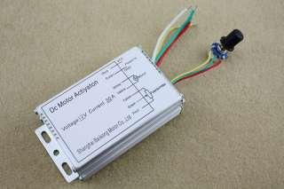 12V 30A DC Motor Speed Control PWM HHO RC Controller