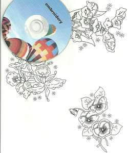 choice clip art embroidery patterns transfers on CD